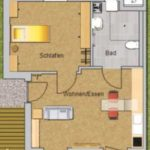 bungalow 45er rollstuhlgerecht - innen