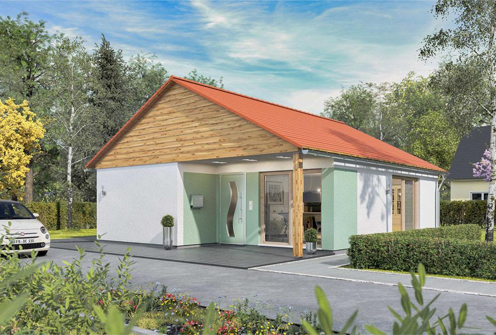 bungalow 61er Komfort - außen